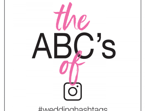 Wedding Hashtag ABC's | An Alphabet of Alliterations