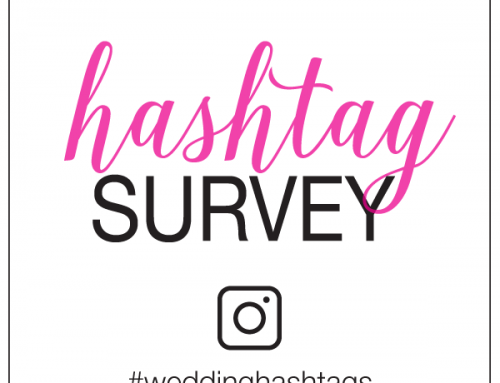 Wedding Hashtag Survey