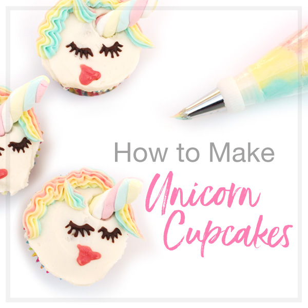 how to make unicorn cupcakes