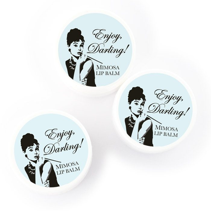 bridal shower favors breakfast at Tiffany's