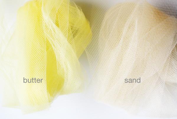 secret menu tulle butter and sand