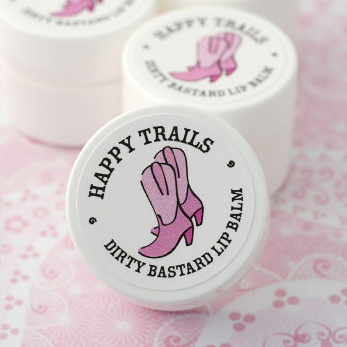 happy trails divorce party favors