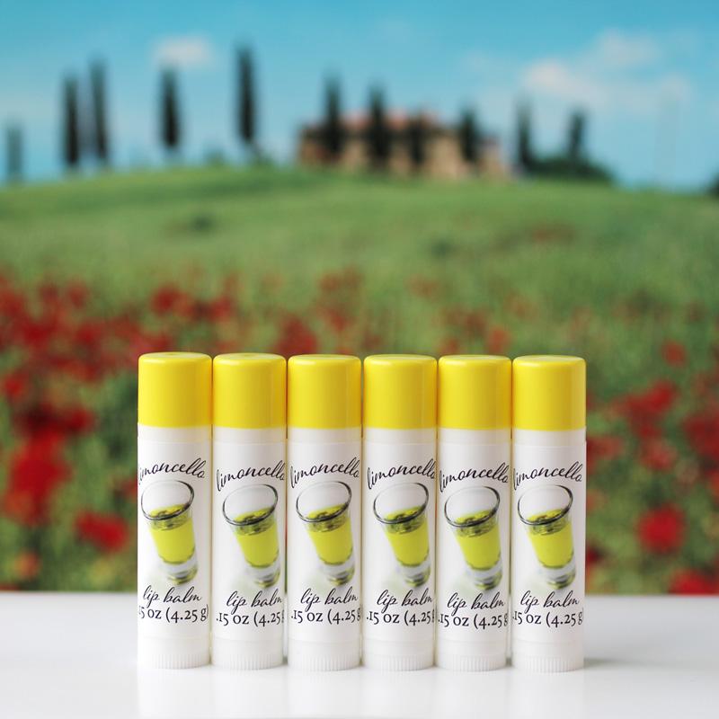 limoncello lip balm
