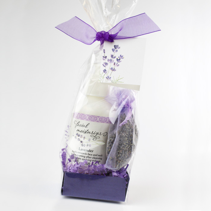 lavender moisturizer gift set