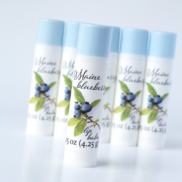 Maine blueberry lip balm