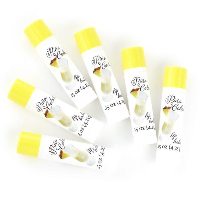 lip balm tubes pina colada