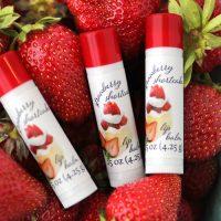 strawberry shortcake lip balm