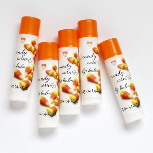 candy corn lip balm
