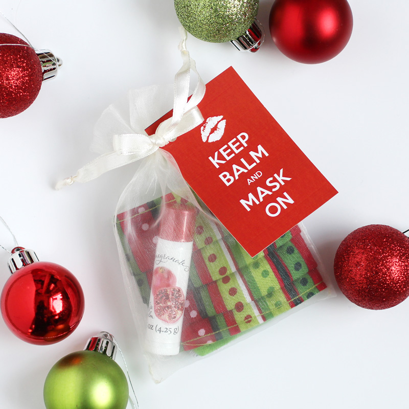 Holiday gift guide includes lip balm and mask gift set
