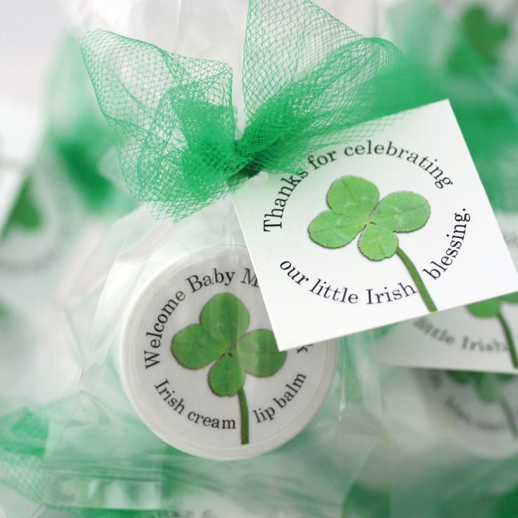 st patrick's day green clover favors