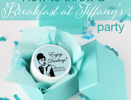 How to Throw a Breakfast at Tiffany's Party