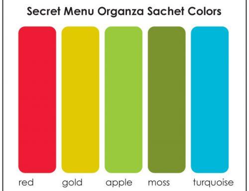 Secret Menu: Organza Sachet Colors