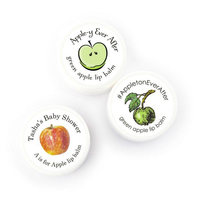 apple theme favors