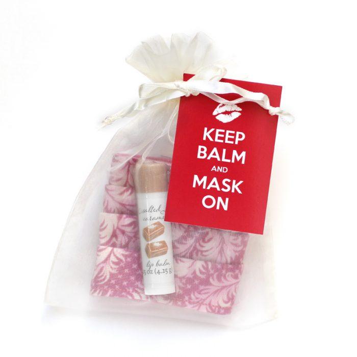 keep balm and mask on