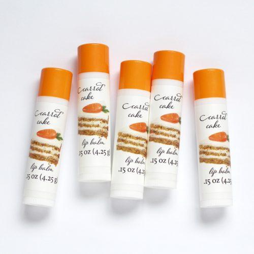 carrot cake lip balm