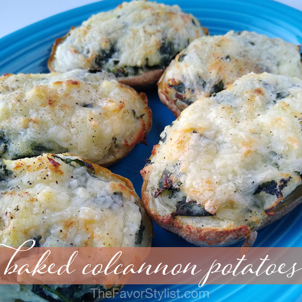 baked colcannon potatoes