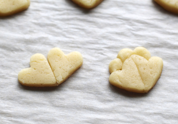 cookies from heart cutter